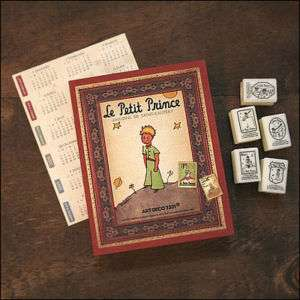 Le Petit Prince Diary Journal Daily Planner + Stamp Kit
