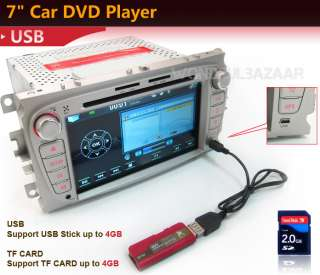 DIN Car DVD GPS IPOD TV BT for Ford MONDEO FOCUS