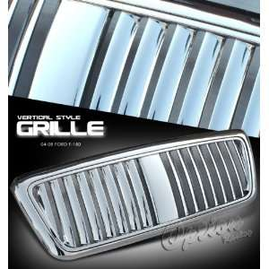 2006 FORD F150 F 150 TRUCK 1PC ABS VERTICAL ALL CHROME FRONT GRILLE