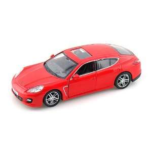 Porsche Panamera Turbo 1/36 Red Toys & Games
