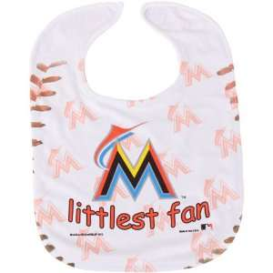 MLB McArthur Miami Marlins Infant Littlest Fan Mesh Bib