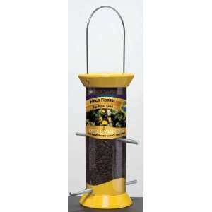 Nyjer Bird Feeder, 8 in, Yellow