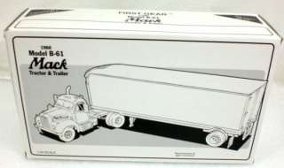 1st First Gear 1960 B 61 Mack Truck EAGLE SNACKS #4