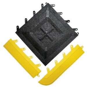 Wearwell PVC 543 FIT Functional Interlocking Anti Fatigue Gritted Tile