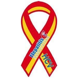 Hepatitis C Association Awareness Ribbon Magnet