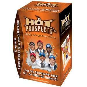 2008 09 Fleer Hot Prospects Basketball Trading Cards