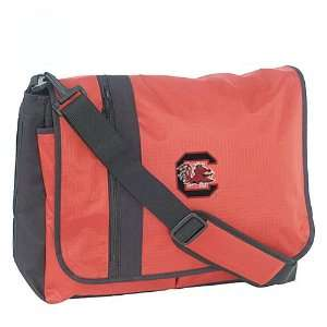 Mercury Luggage South Carolina Gamecocks Red Messenger Bag