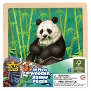 Panda Wooden Jigsaw Puzzle Toys & Games