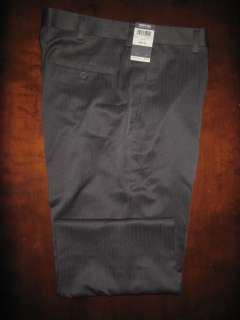 Kenneth Cole REACTION Men Dress Pinstripe Pants 36 $75