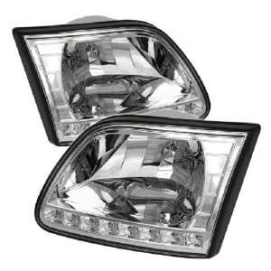 Spyder Auto Ford F150 / Expedition Crystal HeadlightsChrome