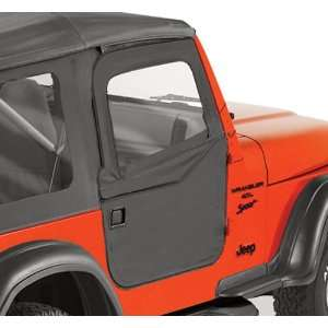 37 Jeep Wrangler 2 Pc Soft Doors   TJ / LJ   In Spice Automotive