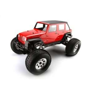 Jeep Wrangler Unlimited Rubicon Body (Clear) Toys & Games