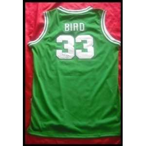 Larry Bird Autographed/Hand Signed Jersey Sports
