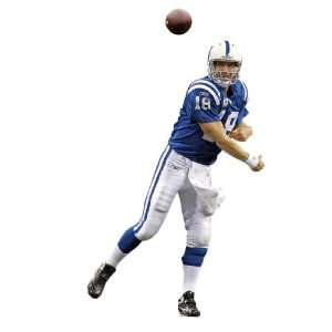 Peyton Manning   Home Indianapolis Colts NFL Fathead REAL