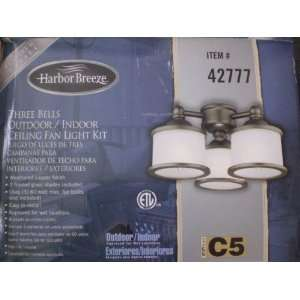 3 Harbor Breeze/Westinghouse Indoor/Outdoor Ceiling Fan