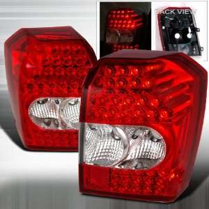 2007 2011 Dodge Caliber Led Tail Lights Red Automotive