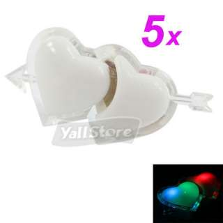 Romantic Heart Shape LED Small Night Lamp Cupid Light