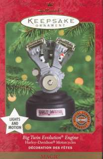 HARLEY DAVIDSON ENGINE LIGHTS/MOTION HALLMARK 2000