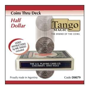 Coins Thru Deck   Half Dollar