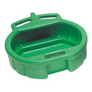 Lumax LX 1631 Green 3.75 Gallon Plastic Oil Drain Pan Automotive