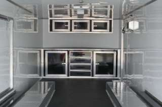 5X24 ENCLOSED CARGO ENCLOSED CAR AUTO HAULER RACE TRAILER RACER