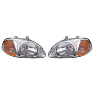 OE Replacement Honda Civic Passenger Side Headlight Lens