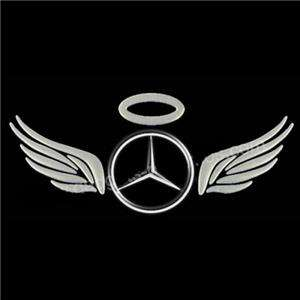 3D Angel Fairy Wings Car Sticker Automobile Decal Label