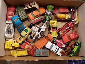 27 VINTAGE LESNEY MATCHBOX CARS FROM 50S 60S 70S 80S