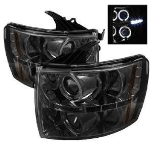 Spyder Auto PRO YD CS07 HL SM Smoke Halo LED Projection