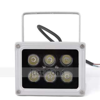 6W 85V 265V 660LM Outdoor LED Flood Light Lamp Warm White Spotlight