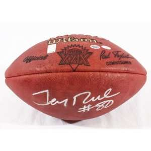 Jerry Rice Autographed SB XXIX Football   Rice Holo