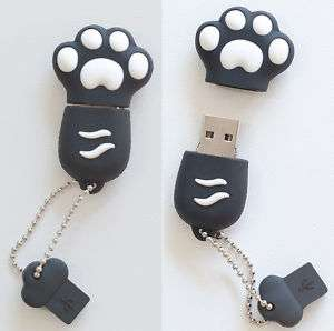 Black Paw USB Flash Memory Drive(Stick/Pen/Thumb) 8GB