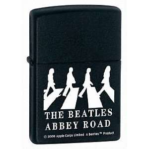 Zippo Beatles Abbey Road,Black Matte #21084  Sports