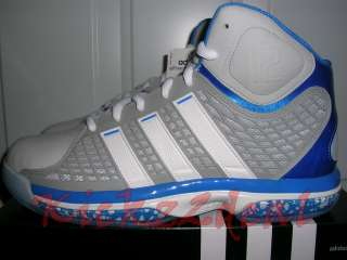 NEW Adidas AdiPower Howard Basketball Shoes White/Silvr Orlando Magic
