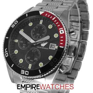 NEW* MENS EMPORIO ARMANI WATCH   AR5855   RRP £349.00