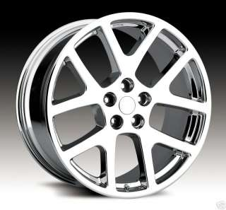 22 Viper SRT8 Charger Magnum 300C Tire Wheel Rim Chrome