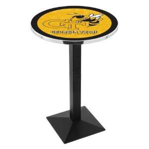 36 Georgia Tech Counter Height Pub Table   Square Base