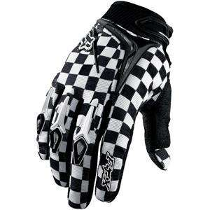 Fox Racing 360 Gloves   8/Black/White Automotive