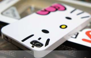 Cute Hello Kitty Slim Glossy Hard Case Cover For i Phone 4 4G+Gift