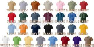 Gildan 100% Ringspun ULTRA Cotton Pique Polo 30 COLORS