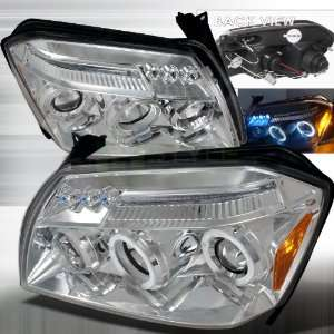 2005 2007 Dodge Magnum Halo Led Projector Headlights