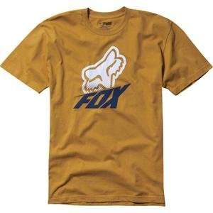 Fox Racing Method T Shirt   Large/Mustard Automotive