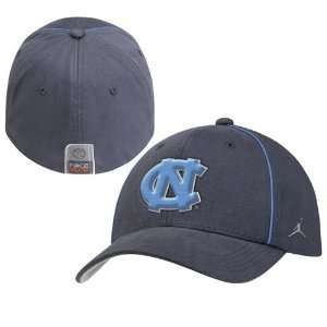 Nike North Carolina Tar Heels (UNC) Charcoal Elite Swoosh