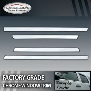 2000 2006 Cadillac Escalade SUV 4pc Chrome Window Trim
