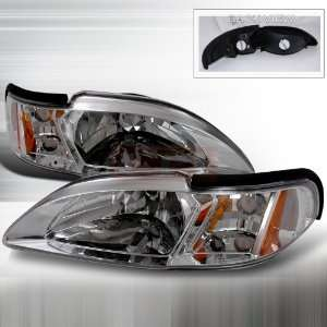 Ford Ford Mustang Headlights/ Head Lamps With Corner Euro