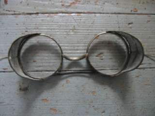 glasses goggles Industrial Steampunk Motorcycle w side mesh