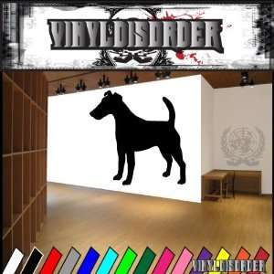 Dogs Terrier Smooth Fox Terrier 2 Vinyl Decal Wall Art