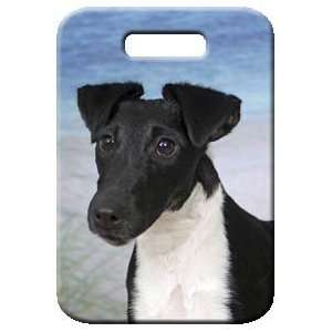 Set of 2 Smooth Fox Terrier Luggage Tags
