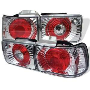 Honda Accord 92 93 4DR Altezza Tail Lights + Hi Power White LED Backup