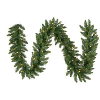 Vickerman Co. Camdon Fir 14 Garland with LED Lights
